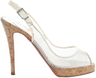 Christian Louboutin White Other Heels