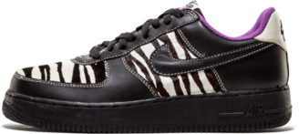Nike Womens Air Force 1 'Zebra' Shoes - Size 10.5W