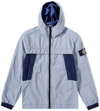 Stone Island Junior Plated Reflective Hooded Jacket