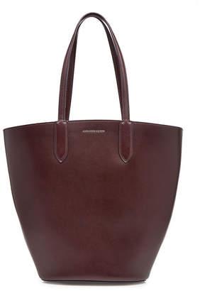 Alexander McQueen Basket Leather Tote
