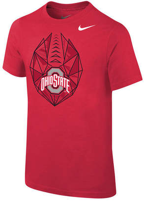 Jordan Nike Ohio State Buckeyes Icon T-Shirt, Big Boys (8-20)