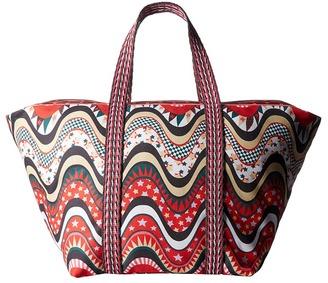 M Missoni Beach Bag $195 thestylecure.com