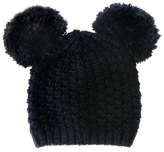 093c9dc18cd NYFASHION101 Cute Pom Pom Round Ears Fashion Knit Beanie Cap Hat
