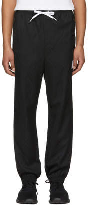 Alexander Wang Black Wool Custom Track Pants
