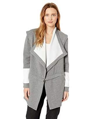 BCBGMAXAZRIA Women's Zip Waist Wrap Jacket