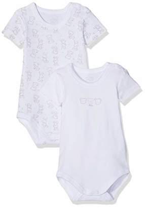 Chicco Baby Set 2 Body Manica Corta Con Apertura Sulla Spalla  Bodysuit 50afe4393bb5