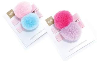 Peppercorn Kids Pompom Hair Clip - Set of 2