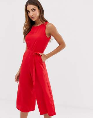 Yumi high neck jumpsuit