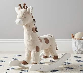 Pottery Barn Kids Giraffe Nursery Rocker