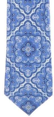 Stefano Ricci Ornate Print Silk Tie
