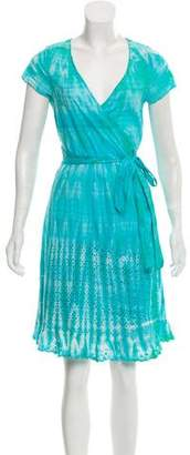 Calypso Tie-Dye Wrap Dress