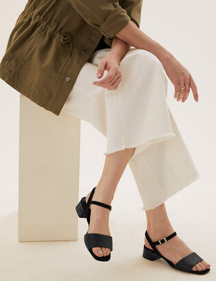 Marks and Spencer Open Toe Ankle Strap Sandals