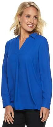Dana Buchman Women's Crepe Tunic Top