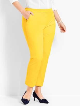 Talbots Plus Size Exclusive Hampshire Ankle Pants - Solid