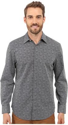 Perry Ellis Exclusive Geo Print Shirt $69.50 thestylecure.com