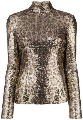 Dolce & Gabbana sequin embellished top