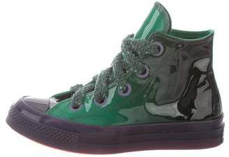 J.W.Anderson Converse 2018 Patent Leather 70s Toy High-Top Sneakers
