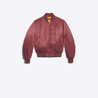 Balenciaga BB Mode logo embroidered nylon bomber jacket