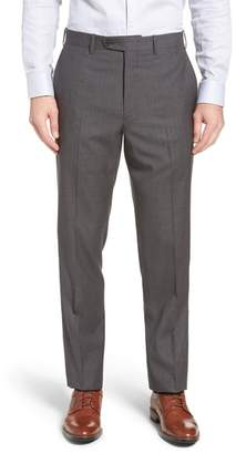 John W. Nordstrom R) Torino Traditional Fit Flat Front Houndstooth Trousers