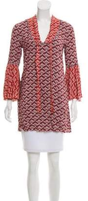 LIKELY Printed V-Neck Tunic