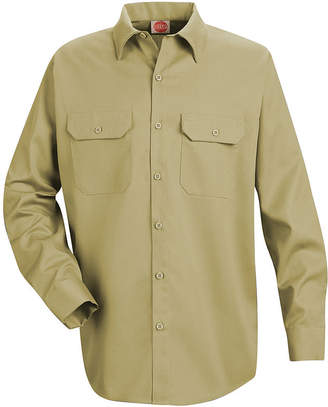 JCPenney Red Kap ST52 Utility Uniform Shirt-Big & Tall