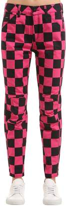 Pharrell G-Star By Williams Elwood Chef's Check Printed Jeans