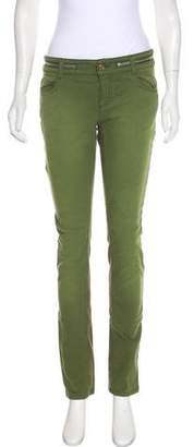 Givenchy Zip-Accented Mid-Rise Jeans