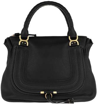 Chloé Marcie Large Shoulder Bag Black