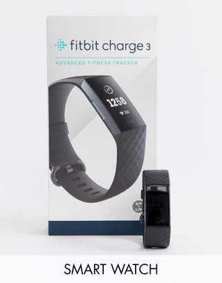 Fitbit Charge 3 smart watch in black