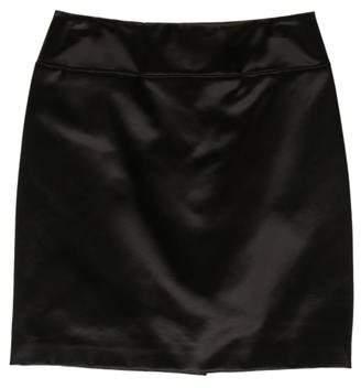Rue Du Mail Satin Mini Skirt w/ Tags