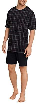 Schiesser Men's Anzug Kurz Pyjama Sets,(Size: 064)