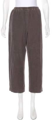 eskandar Corduroy Cropped Pants