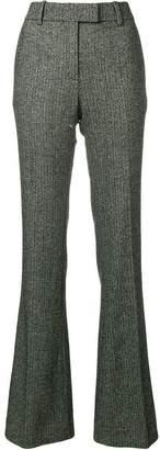 Tom Ford herringbone flared trousers