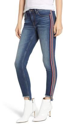 Vigoss Stripe Trim Skinny Jeans