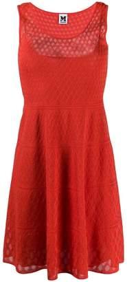 M Missoni knitted mid dress