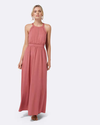Forever New Addison Lace Trim Maxi Dress