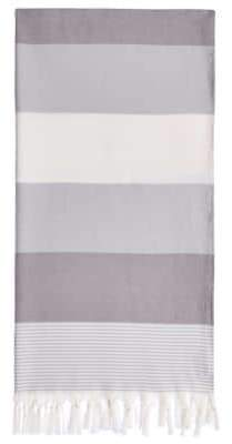 Sea Waves Pestemal Turkish Cotton Beach Towel