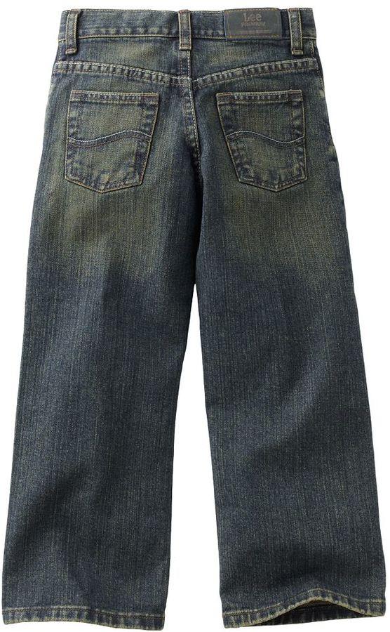 Lee premium select relaxed-fit jeans - boys 4-7x