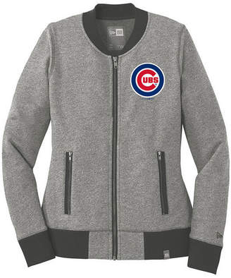New Era Women Chicago Cubs French Terry Full-Zip Jacket