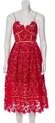 Self-Portrait Azaelea Lace Sleeveless Dress