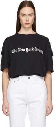 Etudes Black The New York Times Edition Unity T-Shirt