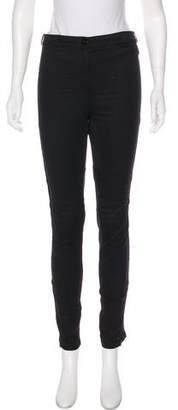 Versace Mid-Rise Skinny Pants