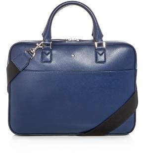 Montblanc Sartorial Ultra Slim Embossed Leather Briefcase