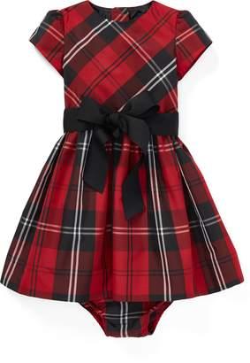 Ralph Lauren Tartan Plaid Dress & Bloomer
