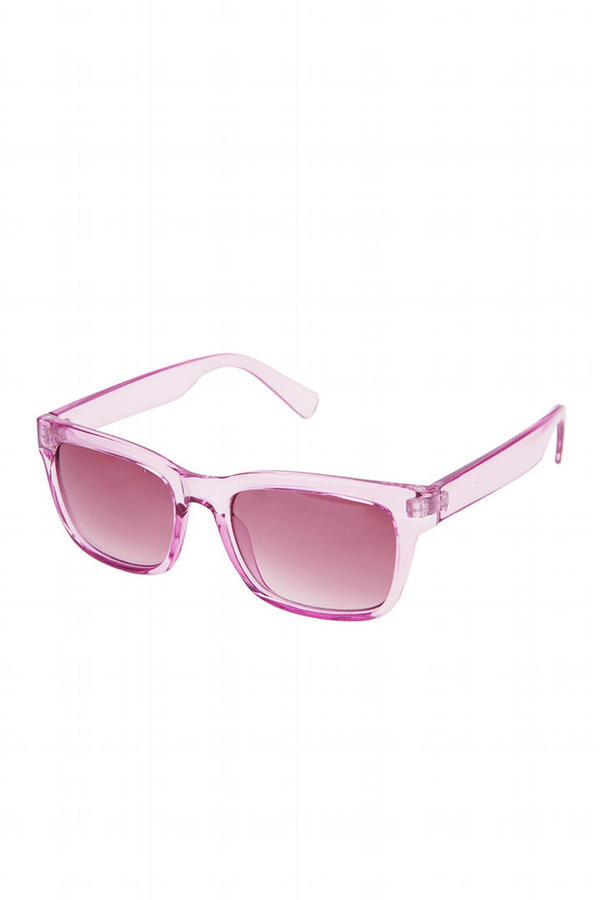 Crystal Clear Sunglasses
