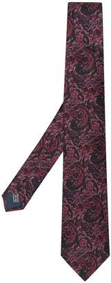 Lanvin pointed woven tie