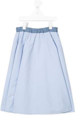 Familiar A-line maxi skirt