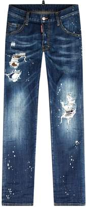 DSQUARED2 Skater Patch Jeans