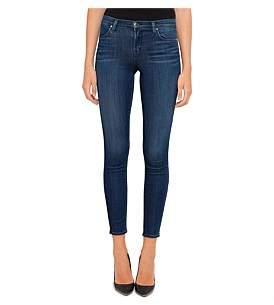 J Brand 620 Mid Rise Super Skinny With Gold Hardware