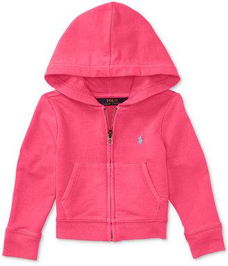 Ralph Lauren Full-Zip Hoodie, Toddler & Little Girls (2T-6X) $49.50 thestylecure.com